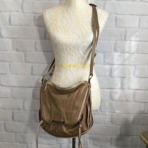 Kooba Tan Leather Crossbody Bag